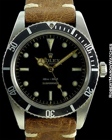 ROLEX SUBMARINER 5508 GILT GLOSS EXCLAMATION MARK DIAL