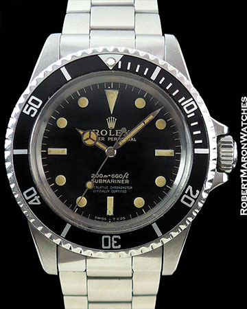 RX 5512 SUBMARINER GILT GLOSS 4-LINE
