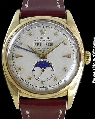 ROLEX 6062 ORIGINAL STAR DIAL CIRCA 1950