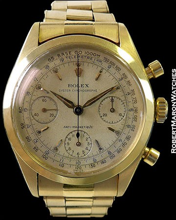 ROLEX 6234 18K OYSTER CHRONOGRAPH ANTI MAGNETIC