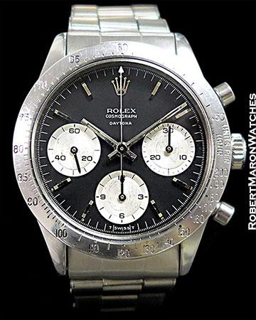 ROLEX 6239 DAYTONA UNPOLISHED STEEL 1967