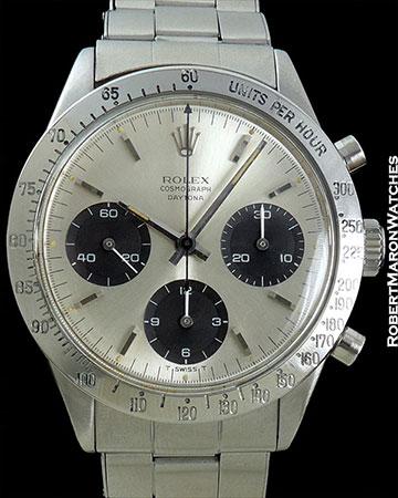 ROLEX 6239 1M SERIAL 1965 SMALL DAYTONA LOGO