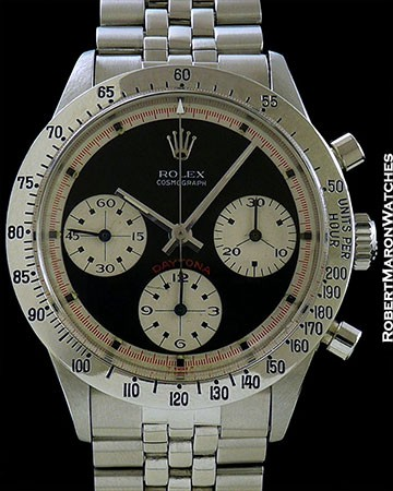 ROLEX 6239 PAUL NEWMAN DAYTONA STEEL