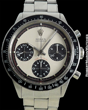ROLEX PAUL NEWMAN DAYTONA 6241 CHRONOGRAPH STEEL