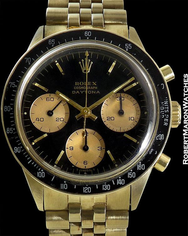 "ROLEX REF 6241 DAYTONA 1.5 M CIRCA 1966 ""EVER ROSE"" EXTREMELY RARE & COLLECTIBLE"