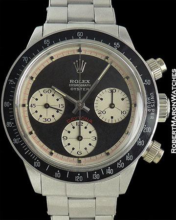 ROLEX REF 6263 INCREDIBLY RARE RCO PAUL NEWMAN DAYTONA CIRCA 1970