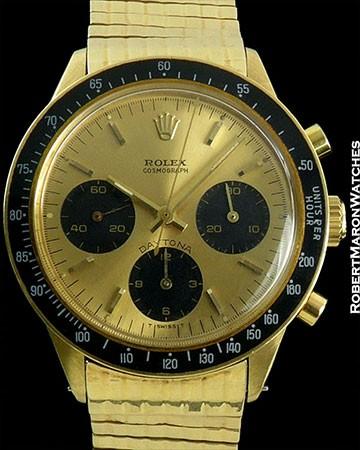 ROLEX 6264 18K DAYTONA ORIGINAL RX BRACELET