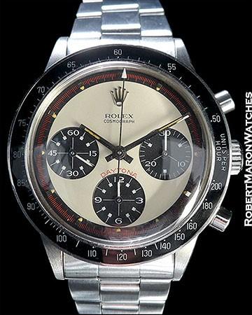 Rolex 6264 INCREDIBLE CONDITION!!  PAUL NEWMAN 3-COLOR CREME DIAL - RARE!!  MINT++