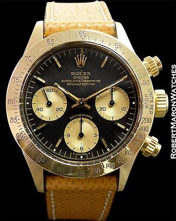 ROLEX DAYTONA 6265 18K 1977