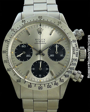 ROLEX DAYTONA 6265 SIGMA DIAL BOX & PAPERS