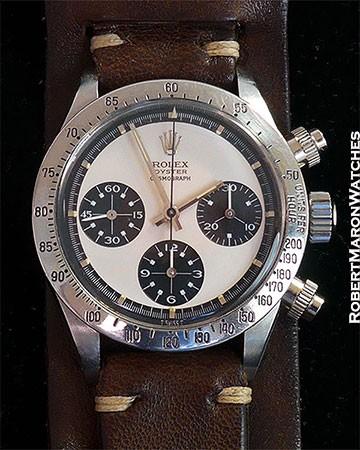 ROLEX TROPICAL PAUL NEWMAN 6265 DAYTONA 3.0M MK 1 PUSHERS MK 2 DIAL 1971