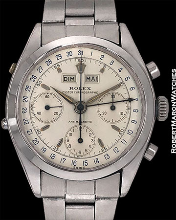 ROLEX 6236 DATOCOMPAX TRIPLE DATE CHRONOGRAPH JEAN CLAUDE KILLY