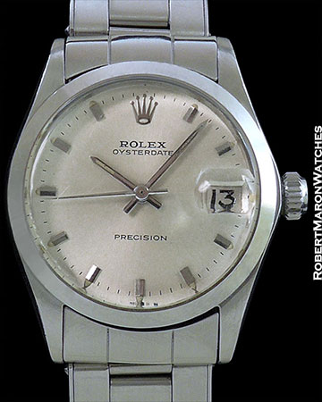ROLEX 6466 OYSTER DATE PRECISION STAINLESS AUTOMATIC