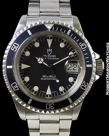 TUDOR 79090 SUBMARINER STAINLESS AUTOMATIC