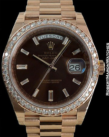 ROLEX DAY DATE ROSE GOLD