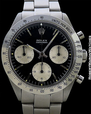 ROLEX 6239 DAYTONA UNDERLINE DOUBLE SWISS STEEL