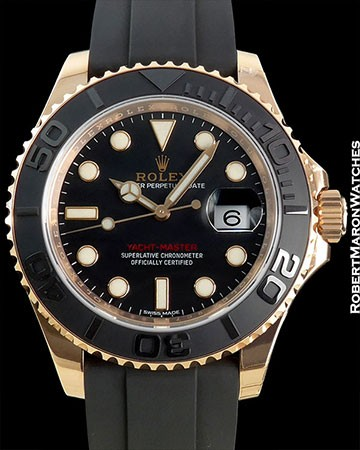 ROLEX M116655 ROSE YACHTMASTER