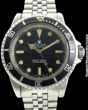 ROLEX COMEX 5513 SUBMARINER w/ HELIUM ESCAPE VALVE
