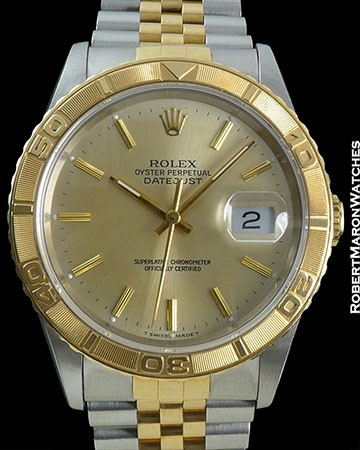 ROLEX THUNDERBIRD 18K / STAINLESS STEEL NEW OLD STOCK