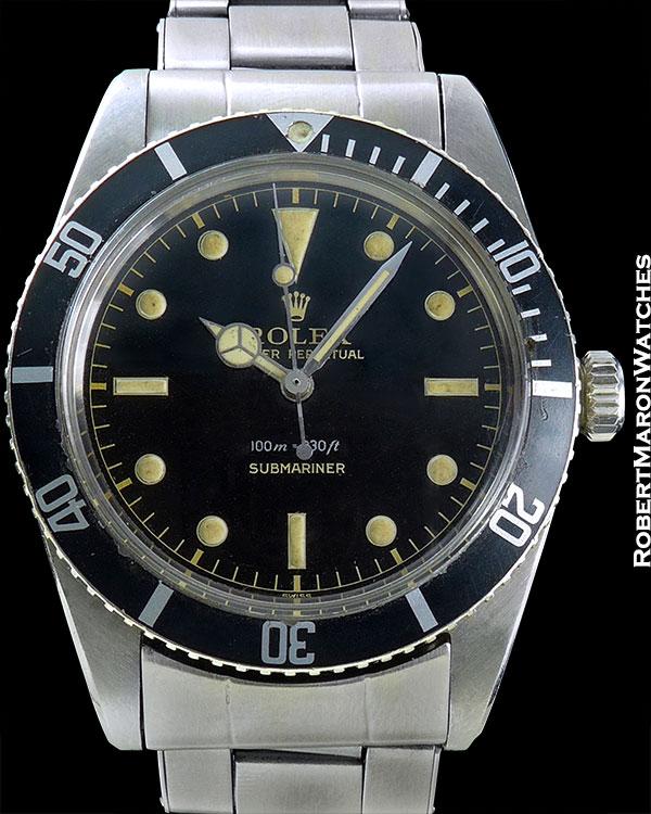 "ROLEX REF 5508 SUBMARINER ""JAMES BOND"" CIRCA 1959"