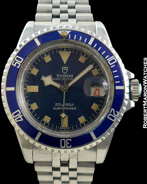 TUDOR REF 7016 SUBMARINER TROPICAL SNOWFLAKE
