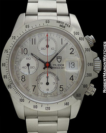 TUDOR 79280 SILVER DIAL CHRONO STAINLESS STEEL BOX/PAPERS