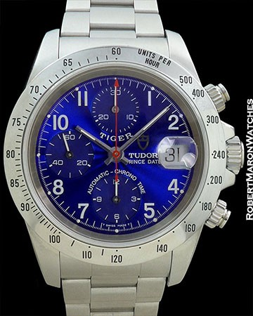 TUDOR 79280 BLUE DIAL CHRONO STAINLESS STEEL
