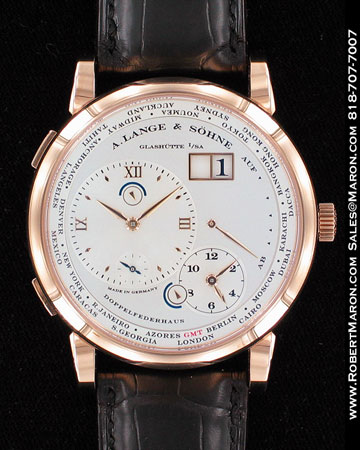 A. LANGE & SOHNE DOPPELFEDERHAUS WORLD TIME GMT