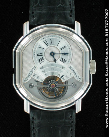 DANIEL ROTH DOUBLE-FACED TOURBILLION