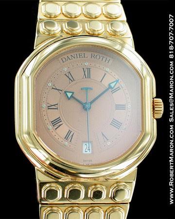 DANIEL ROTH LE SENTIER MEN'S DATE 7000 RC DF