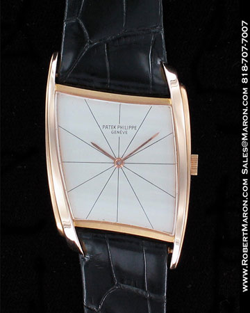 PATEK PHILIPPE VINTAGE ASYMETRIC 3424 18K ROSE GOLD