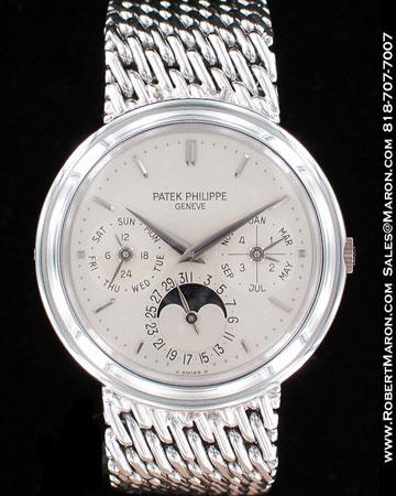 PATEK PHILIPPE PERPETUAL CALENDAR MOONPHASE 3945