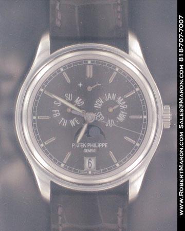 PATEK PHILIPPE ANNUAL CALENDAR POWER RESERVE MOONPHASE 5146
