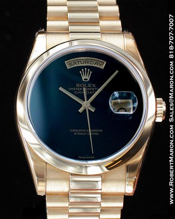 ROLEX OYSTER PERPETUAL DAY-DATE 118208