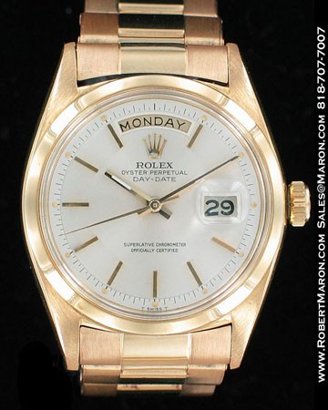 ROLEX OYSTER PERPETUAL DAY-DATE 1802