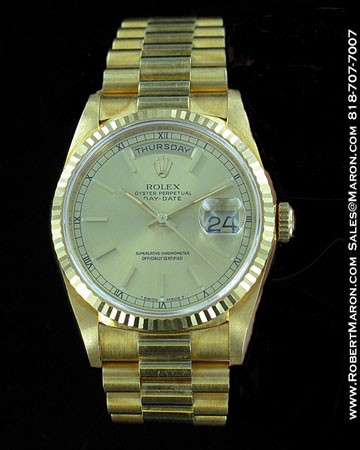 ROLEX OYSTER PERPETUAL DAY-DATE 18238