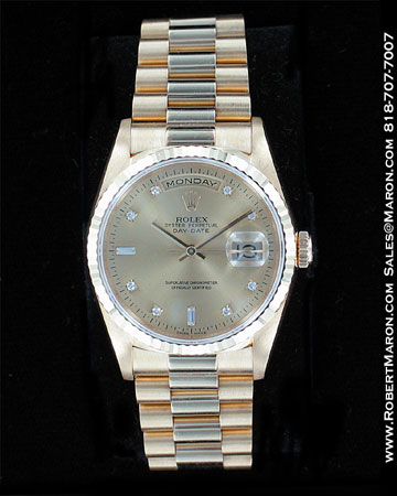 ROLEX OYSTER PERPETUAL DAY-DATE 18296