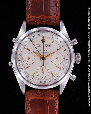 ROLEX OYSTER TRIPLE-DATE CHRONOGRAPH 6236