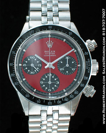 rolex daytona red dials