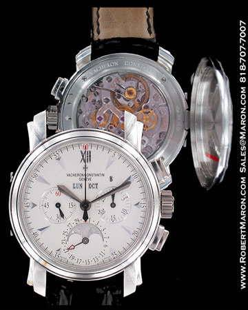 VACHERON CONSTANTIN MOONPHASE CHRONOGRAPH