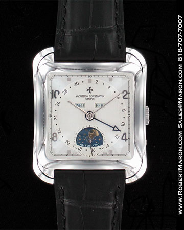 VACHERON CONSTANTIN MOONPHASE PLATINUM 47300