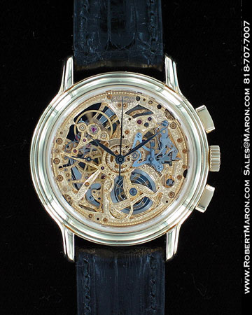 ZENITH SKELETON TRIPLE CALENDAR