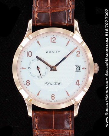 ZENITH ELITE HW AUTOMATIQUE 17112650