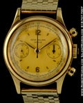 PATEK PHILLIPE VINTAGE CHRONOGRAPH 18K YELLOW GOLD BRACELET 1463 J