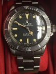 ROLEX 5513 SUBMARINER STAINLESS AUTOMATIC