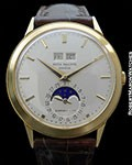 PATEK PHILIPPE TIFFANY 3448 AUTOMATIC 18K PERPETUAL CALENDAR DISPLAY BACK