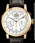 A. LANGE SOHNE DATOGRAPH FLYBACK CHRONOGRAPH 18K