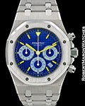 AUDEMARS PIGUET ROYAL OAK CITY OF SAILS BE HAPPY TITANIUM AUTOMATIC