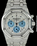 AUDEMARS PIGUET ROYAL OAK CHRONOGRAPH DIAMONDS 18K