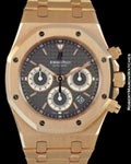 AUDEMARS PIGUET 25960OR ROYAL OAK CHRONOGRAPH 18K ROSE